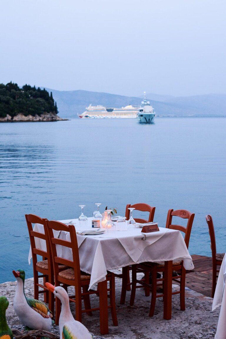 The White House Restaurant Kalami Corfu